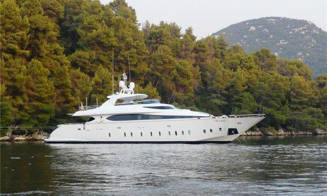 M/Y 'Tuscan Sun' Joins Croatian Charter Fleet