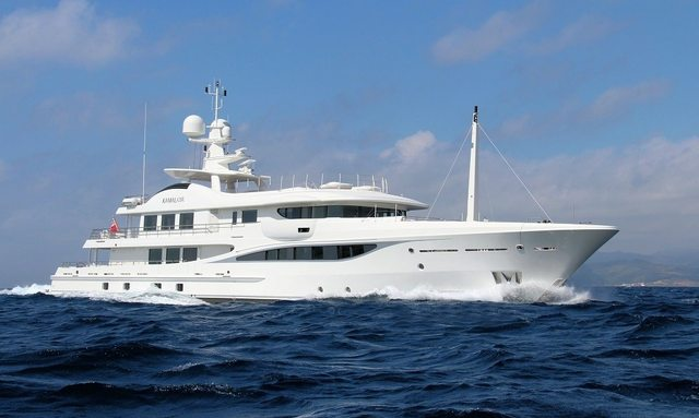 Exclusive Amels 180 Limited Edition yacht KAMALAYA joins the charter fleet