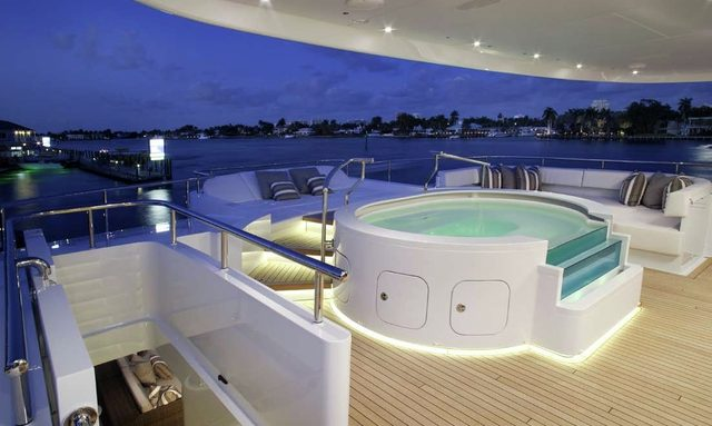 M/Y INCEPTION in the Caribbean