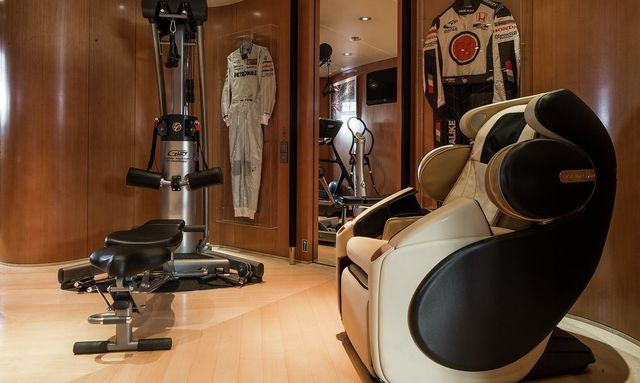 Well Equipped Gym on Maltese Falcon