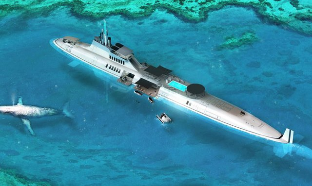 Sub-Superyacht Concept