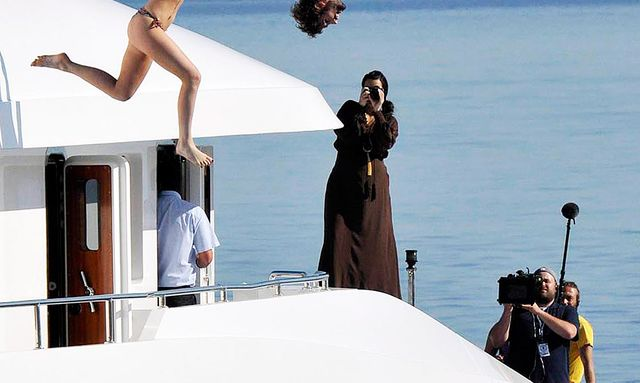 Kardashians Greece Yachting Vacation