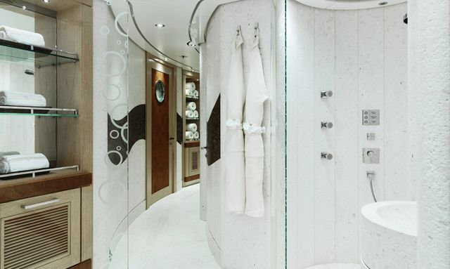 Indulgent spa facilities  on Tranquility