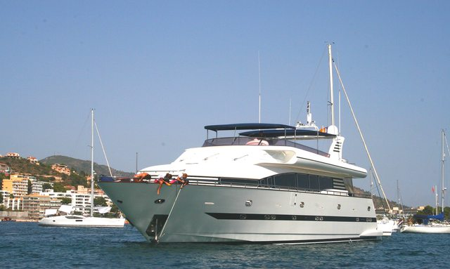 M/Y 'Smiles of London' Open for Ibiza Charters