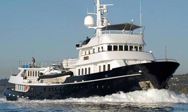 Explorer Yacht Asteria Available for Charter in South East Asia
