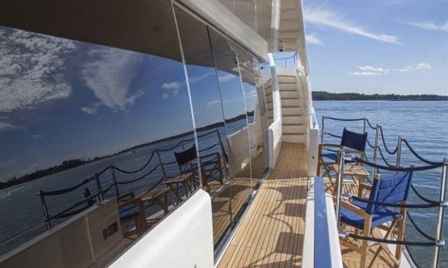 M/Y ALANDREA Joins Caribbean Charter Fleet