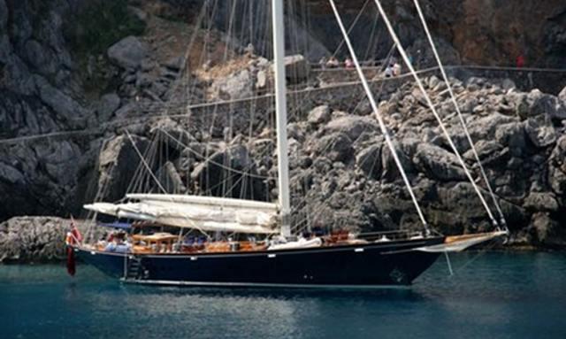 Luxury Sailing Yacht ALEXA Available in Spain