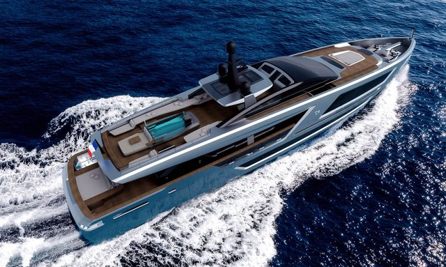 40m charter yacht PANAM wins coveted award