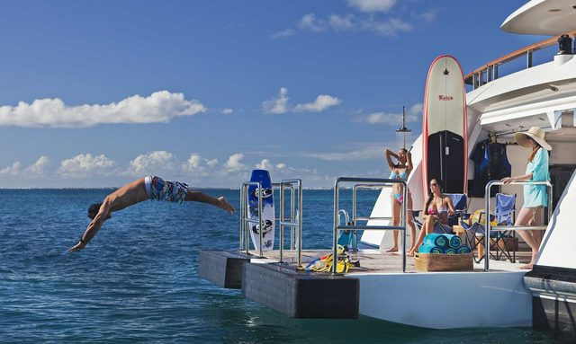 Celebrate the holidays in the Caribbean aboard M/Y JAGUAR