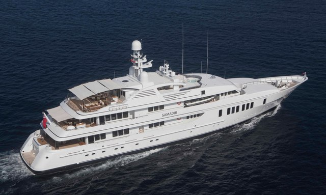 M/Y SAMADHI welcomed onto the charter market