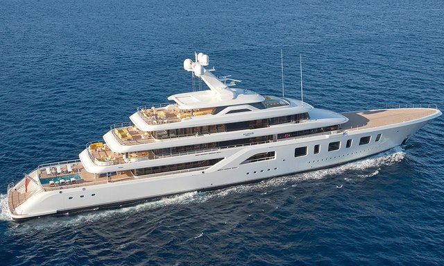 Feadship's 92m M/Y AQUARIUS joins the global charter fleet