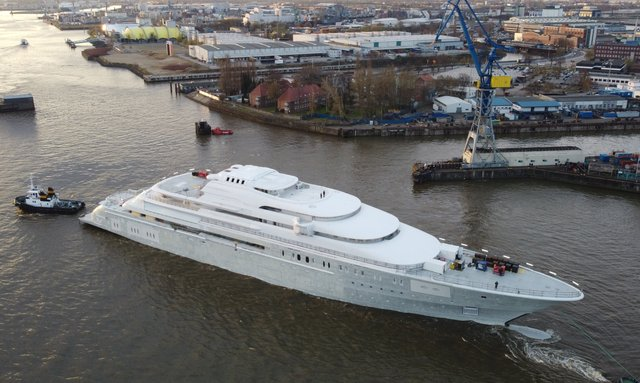EXCLUSIVE: Lürssen's 146m superyacht Project Opera breaks cover