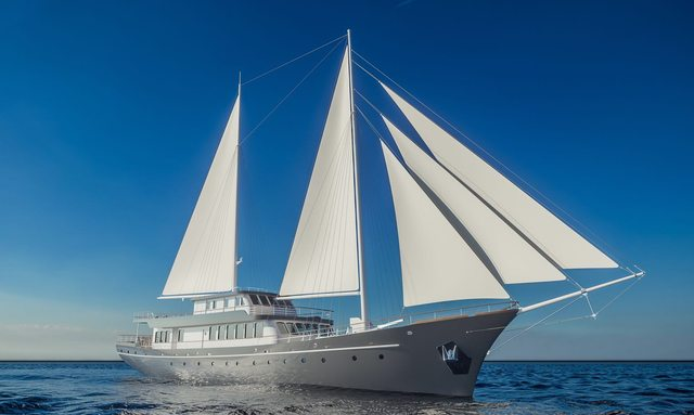 Soon-to-be-launched S/Y CORSARIO joins charter fleet