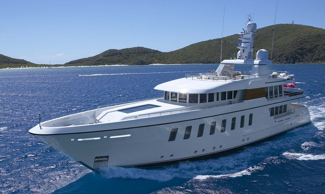 Feadship M/Y GLADIATOR joins global charter fleet