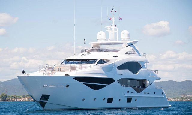 Brand new Sunseeker M/Y 'Lady M' joins global charter fleet