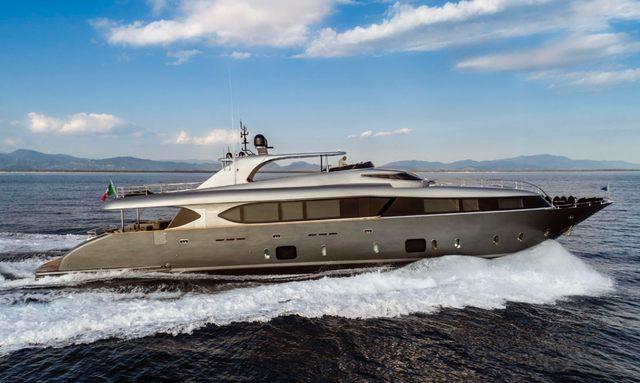 Brand new M/Y SANDS joins global charter fleet
