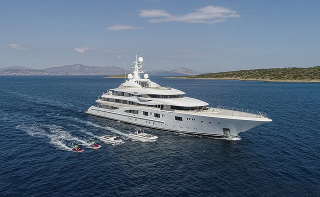 Valerie yacht charter Lurssen Motor Yacht