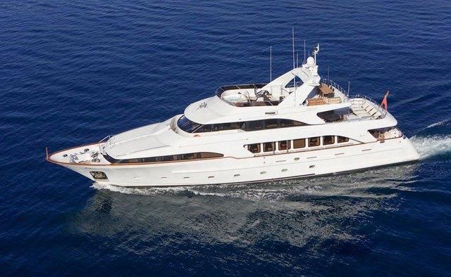 Accama yacht charter Benetti Motor Yacht