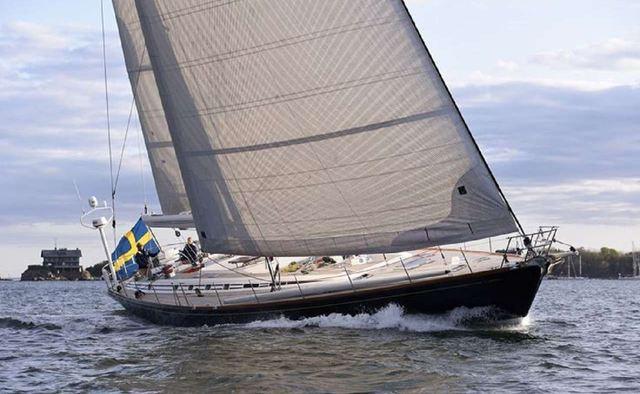 Aquila yacht charter Nautor's Swan Sail Yacht