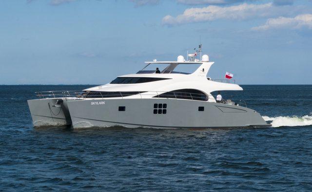 Skylark yacht charter Sunreef Yachts Motor Yacht