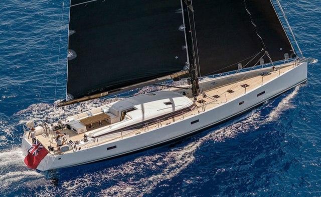 Xaira yacht charter CNB Sail Yacht