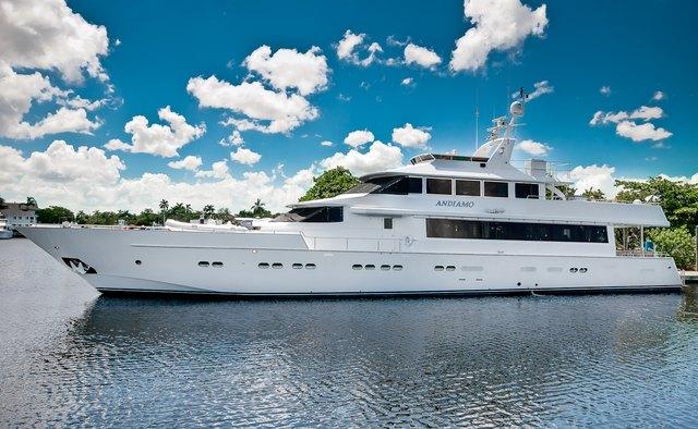 Andiamo yacht charter Azimut Motor Yacht