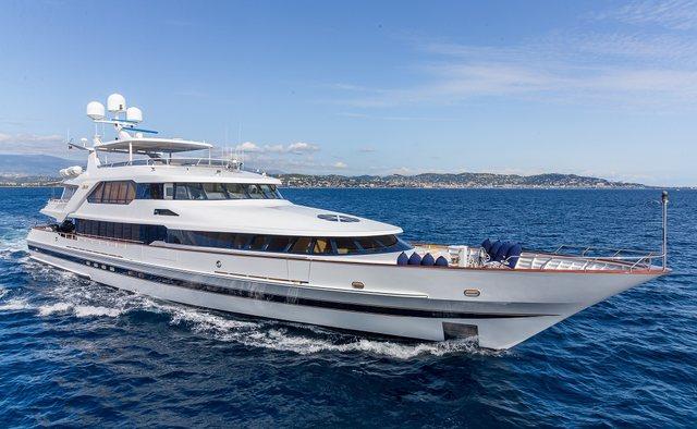 Lucy III yacht charter Lurssen Motor Yacht