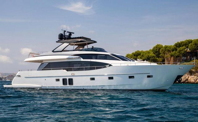Regine yacht charter Sanlorenzo Motor Yacht