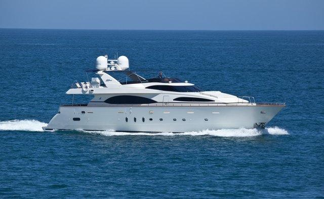 Super yacht charter Azimut Motor Yacht