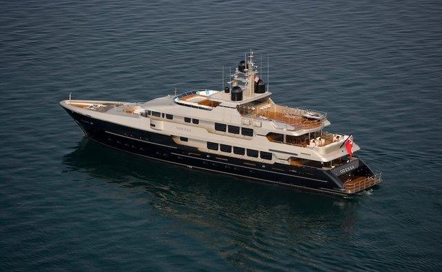 Odessa yacht charter Christensen Motor Yacht