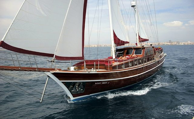 Why Not I yacht charter Bodrum Shipyard Motor/Sailer Yacht