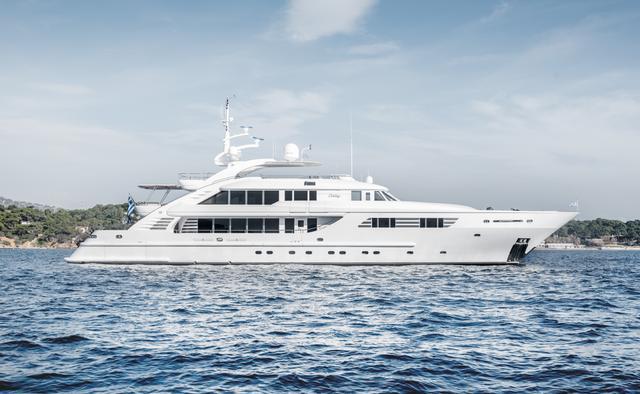Oasis yacht charter ISA Motor Yacht