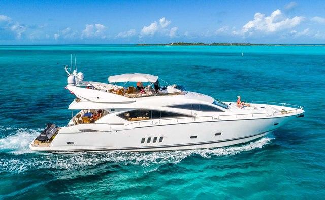 Lady Doris yacht charter Sunseeker Motor Yacht