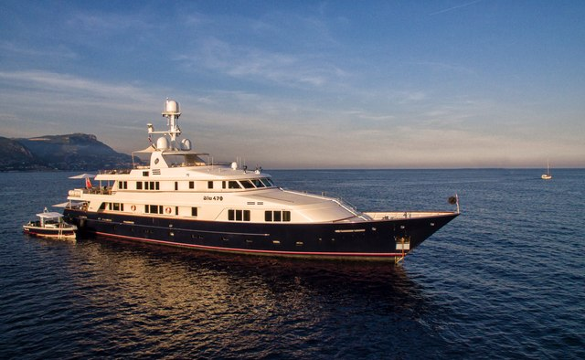 BLU 470 yacht charter Feadship Motor Yacht