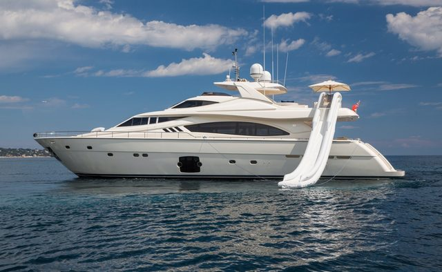 Porthos Sans Abri yacht charter Ferretti Yachts Motor Yacht