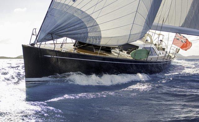 Padma yacht charter Nautor's Swan Sail Yacht