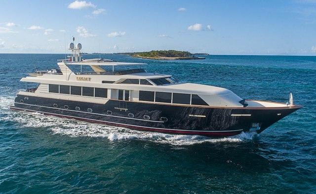 Legacy yacht charter Broward Motor Yacht