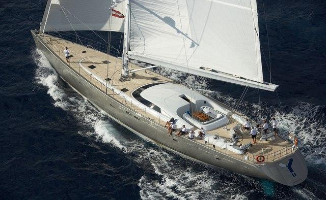 A Sulana yacht charter Holland Jachtbouw Sail Yacht