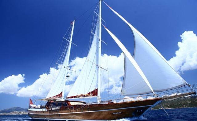 Dreamland yacht charter Bodrum Shipyard Motor/Sailer Yacht