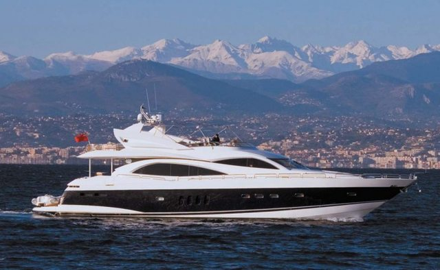 Molly Malone yacht charter Sunseeker Motor Yacht