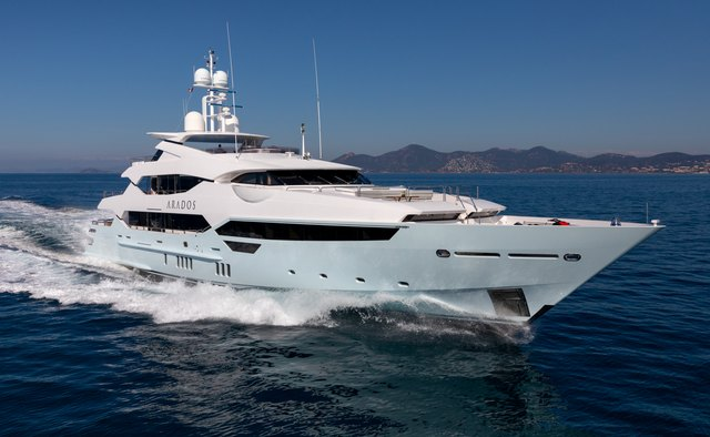 Arados yacht charter Sunseeker Motor Yacht