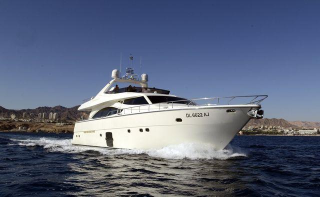 My Lady yacht charter Ferretti Yachts Motor Yacht