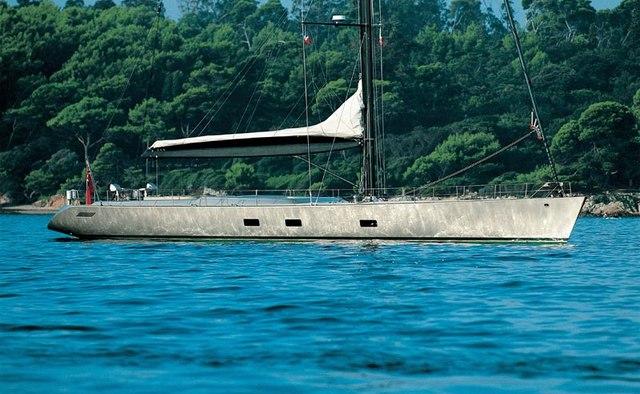 Dark Shadow yacht charter Wally Sail Yacht