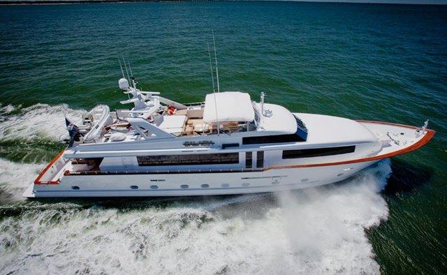 True Blue yacht charter Broward Motor Yacht