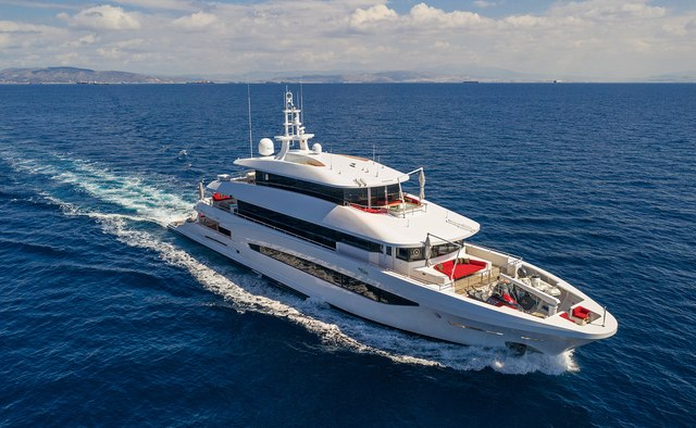My Eden yacht charter Golden Yachts Motor Yacht