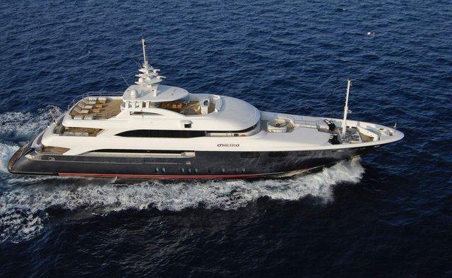 O'Neiro charter yacht exterior designed by Studio Vafiadis