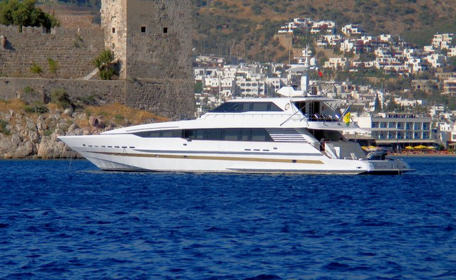 Obsessions charter yacht exterior designed by Mulder Design