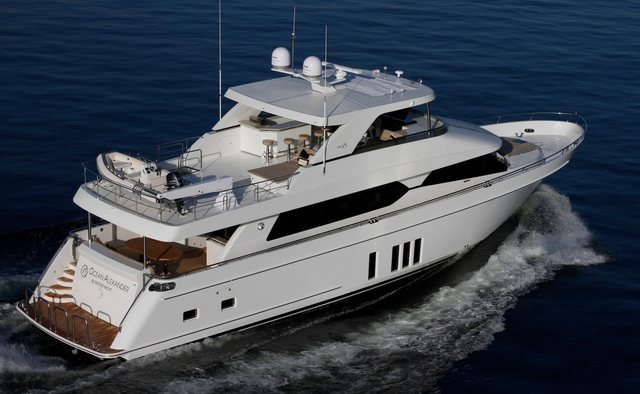 Fortissimo yacht charter Ocean Alexander Motor Yacht