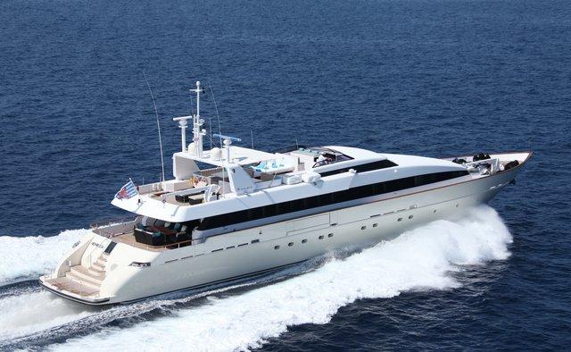 Hemilea yacht charter Baglietto Motor Yacht