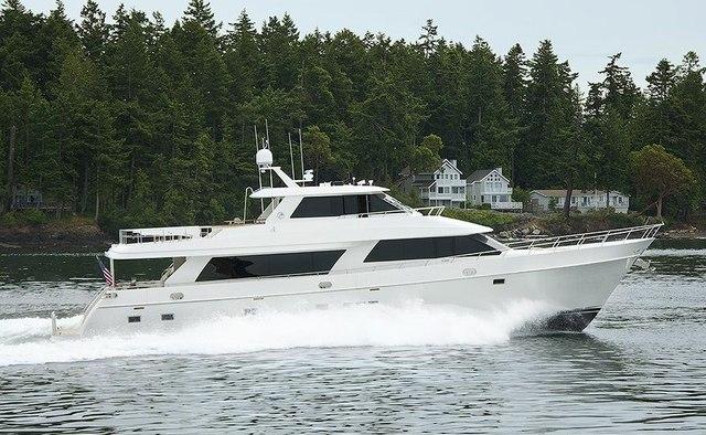 Phantom yacht charter Ocean Alexander Motor Yacht